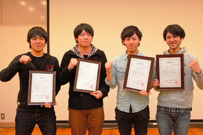 神戸市から依頼を受けた「新開地アートビレッジセンターのカフェスペース改修プラン」の受賞者たち