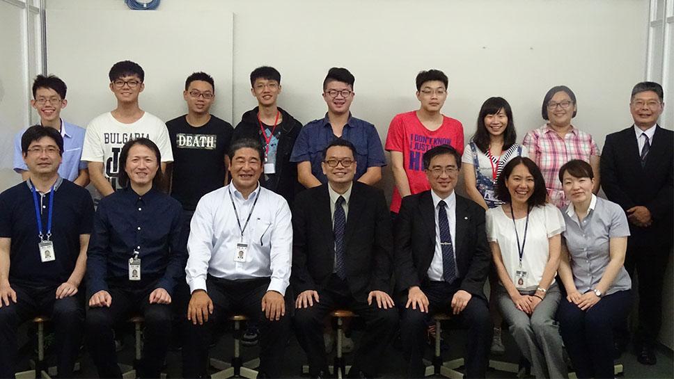 神戸電子でゲームの技術と日本語を身につける!台湾正修科技大学から7回目の短期留学生を迎えました。